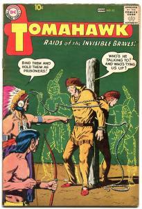 Tomahawk #62 1959- DC Silver age Western Comic- FN+