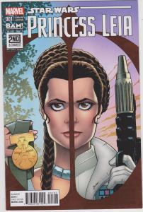 Princess Leia #1 BAM Variant