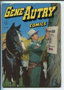 GENE AUTRY FOUR COLOR #100 1946-DELL-FIRST PHOTO COVER-JESSE MARSH ART-RARE-fn