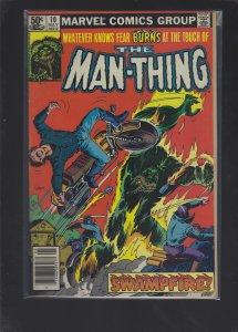 Man-Thing #10 (1981)