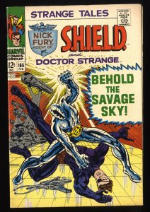 Strange Tales #165 VF 8.0 Marvel Comics Nick Fury Doctor Strange Torch