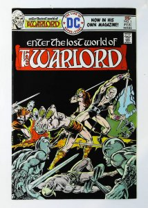 Warlord (1976 series) #1, VF (Actual scan)