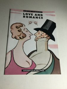Cover Stories Love And Romance Vf- Very Fine- 7.5 Supplement To The New Yorker