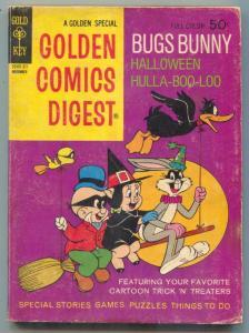 Golden Comics Digest #26 1972-Halloween Hulla-Boo-Loo