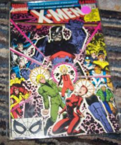 UNCANNY X-MEN ANNUAL # 14 -1990 marvel DAYS OF FUTURE PRESENT  PT 4 1ST GAMBIT