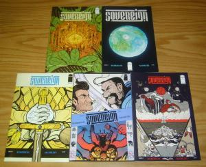 Sovereign #1-5 VF/NM complete series - chris roberson  image comics epic fantasy