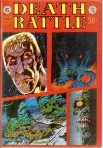 DEATH RATTLE (1973 KS)  V 1 # 3 VG-F Vosburg, Roberts COMICS BOOK