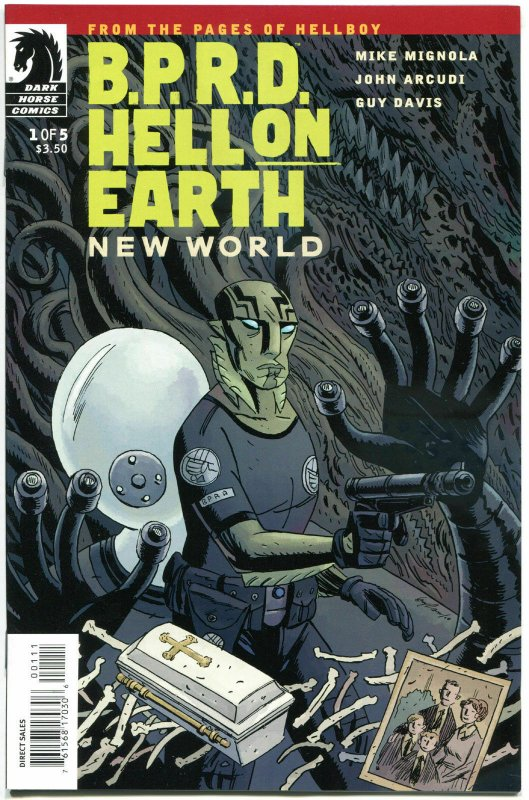 B P R D HELL on EARTH #1 2 3 4 5, VF/NM, 2010,  5 issues, Mike Mignola, Hellboy