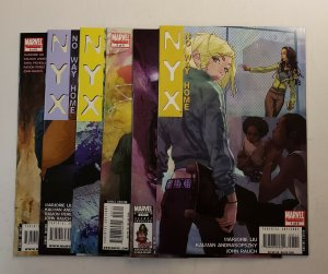 NYX NO WAY HOME #1-6 COMPLETE SET MARVEL COMICS 2008 VF/NM