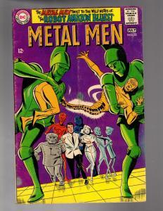 METAL MEN 32 VERY GOOD July 1968  (SC)