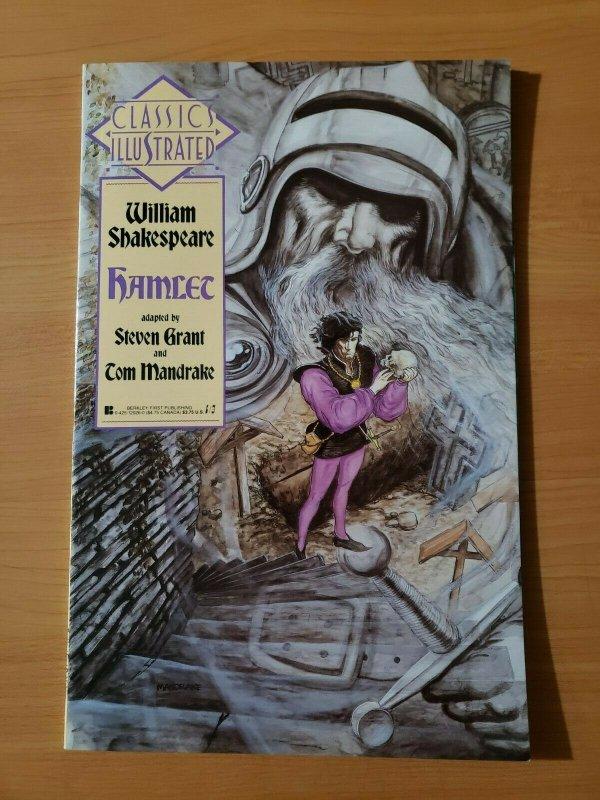 Classics Illustrated #5 William Shakespeare Hamlet ~ NEAR MINT NM ~ 1990