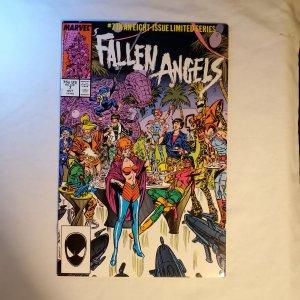 Fallen Angels 7 Very Fine/Near Mint Cover by Kerry Gammill