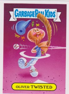 2015 Garbage Pail Kids All-Star Sticker #5 Oliver Twisted