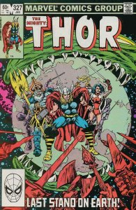 Thor #327 VF/NM; Marvel | save on shipping - details inside