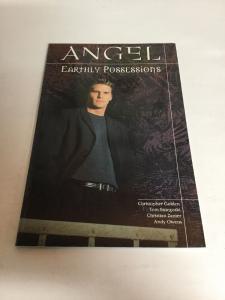 Angel Earthly Possessions Tpb Nm Near Mint Dark Horse Comics