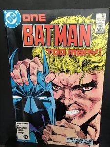 Batman #403 (1987) high-grade Two-Face key! Tommy Karma Batman! NM- Wow!