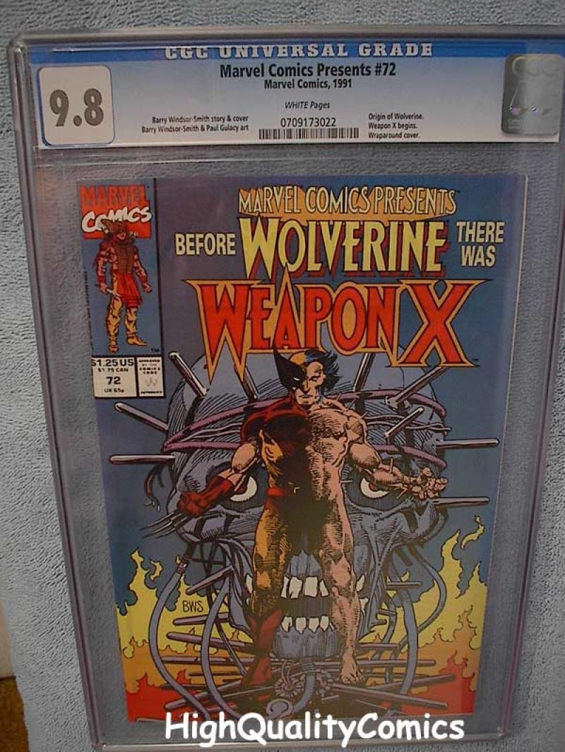 Marvel Comics Presents Weapon X Issue # 72 Comic 1991 nm//m Wolverine