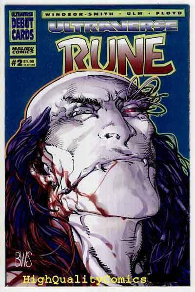 RUNE #2, NM+, Barry Smith, Vampire, 1994, Chris Ulm, more indies in store
