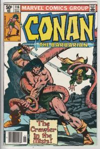 Conan the Barbarian #116 (Nov-80) VF High-Grade Conan the Barbarian
