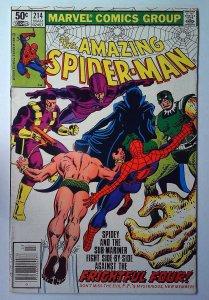 The Amazing Spider-Man #214 (1981)