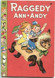 RAGGEDY ANN + ANDY #29-1948-WALT KELLY--DAN NOONAN-BROWNIES-DELL