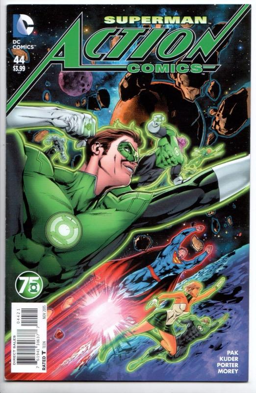 comics 44 green lantern 75th variant dc 2015 new unread vf nm hipcomic