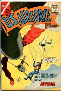 U.S. Air Force #26 1963-parachute cover-Cold War & sci-fi stories-VF-