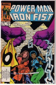 Power Man and Iron Fist   vol. 1   #101 FN (Asst. Editors Month) Grant/Isherwood