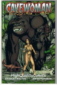 CAVEWOMAN MISSING LINK #4, VF/NM, Budd Root, Big Foot,1997, more CW in store