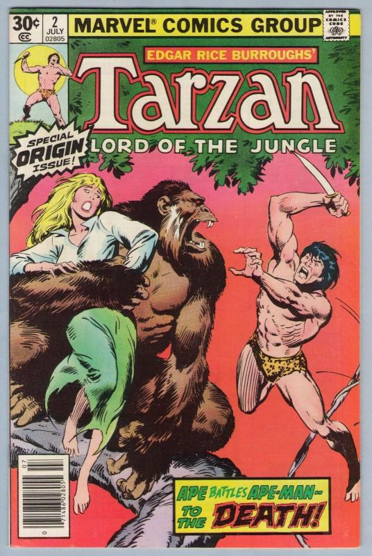 Tarzan (2nd series) 2 Jul 1977 NM- (9.2)