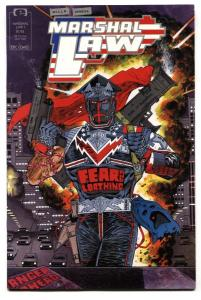 Marshall Law #1 1987 Epic Marvel Comics First issue VF/NM