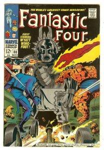 Fantastic Four 80   1st Tomazooma the Living Totem