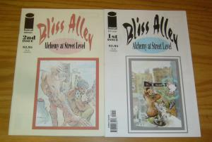 Bliss Alley #1-2 VF/NM complete series - william messner-loebs - image comics