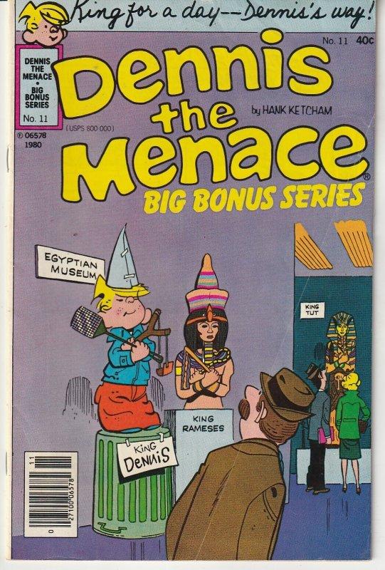 Dennis The Menace Bonus Magazine (vol. 2) # 11  King Dennis ?