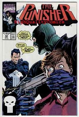 PUNISHER #42, NM-, Mike Baron, Mark Texeira, Blood,1987, more in store