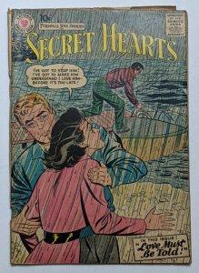 Secret Hearts #40 (Jul 1957, DC) Good 2.0