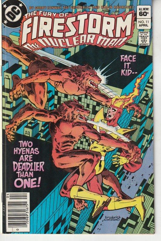 Fury of Firestorm(vol. 1) # 11  Double Trouble !