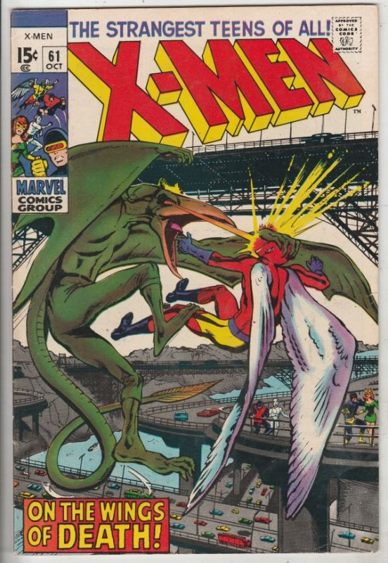 X-Men #61 (Oct-69) FN/VF+ High-Grade X-Men