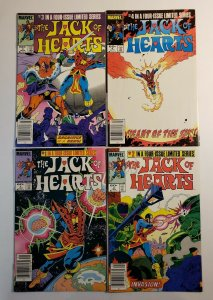 The Jack Of Hearts #1-4 Complete Set Marvel Comics FN/VF Or Better