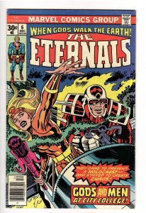 ETERNALS(KIRBY,1976);6 F/VF 7.0 GODS AND MEN