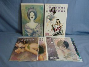 KABUKI (Image Comics 1997) 7 Issues DYNAMIC FORCES VARIANT & MORE Good Reads!
