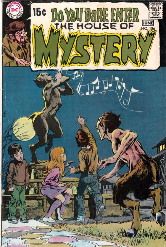 House of Mystery #186 (Feb-68) FN Mid-Grade