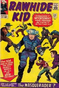 Rawhide Kid 49 strict FN/VF- 7.0 High-Grade Tons more Marvel Westerns up now