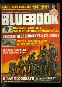 Bluebook Pulp Magazine May 1965- Natalie Wood- Ernie Pyle FN+