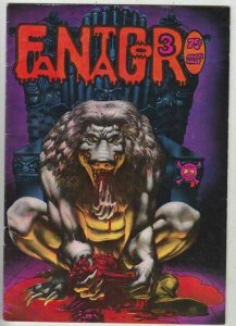 Fantagor # 3 Strict FN Mid-Grade Artist Color Richard Corben Cover Vaughn Bode