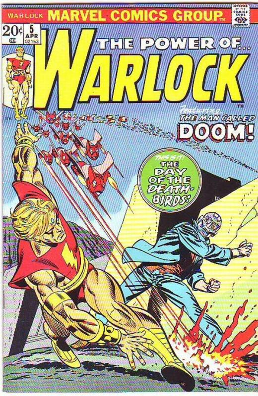Warlock, the Power of  #5 (Apr-73) VF High-Grade Adam Warlock