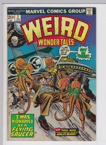 Weird Wonder Tales #2 (Feb 1973) 6.0 FN Marvel Horror