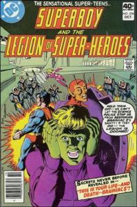 DC SUPERBOY & THE LEGION OF SUPER-HEROES #256 FN+