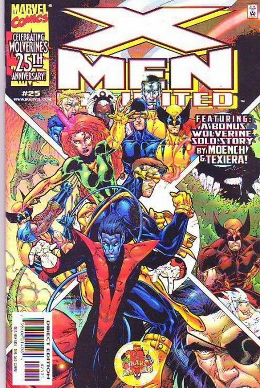 X-Men Unlimited #25 (Dec-99) NM+ Super-High-Grade X-Men