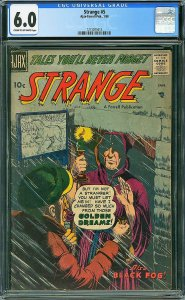 Strange #5 (Ajax-Farrell, 1958) CGC 6.0 FN